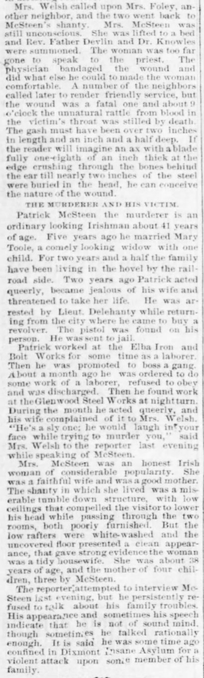 Pittsburgh Daily Post, June 10, 1882