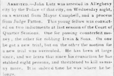 Pittsburgh Morning Post, July 7, 1848