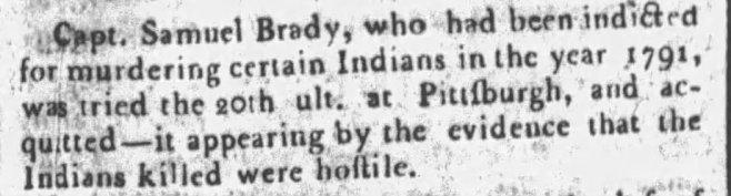 Philadelphia Inquirer, June 5, 1793