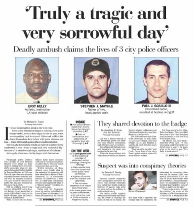 Pittsburgh Post Gazette, April 5, 2009