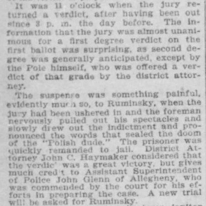 Pittsburgh Press, November 5, 1898