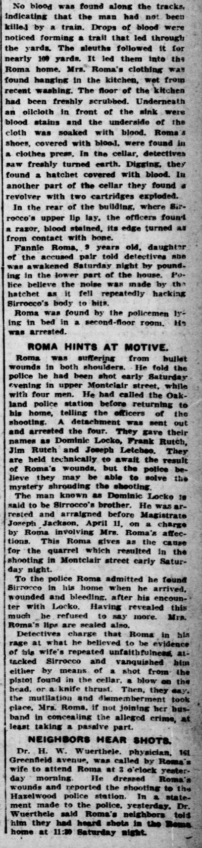 Pittsburgh Post, April 29, 1912