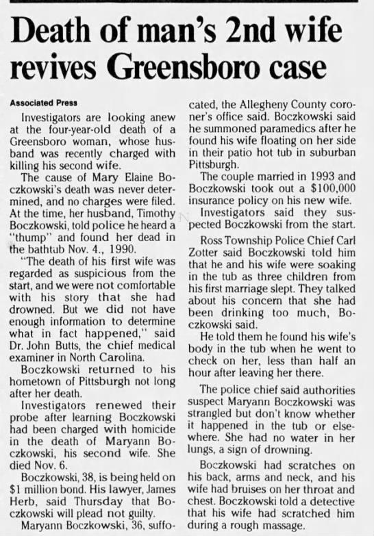 Charlotte Observer, November 18, 1994