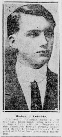 Pittsburgh Post-Gazette, November 18, 1917