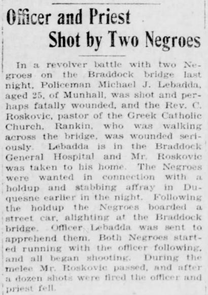 Pittsburgh Post-Gazette, November 17, 1917