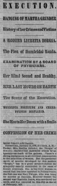 Philadelphia Inquirer, January 20, 1866
