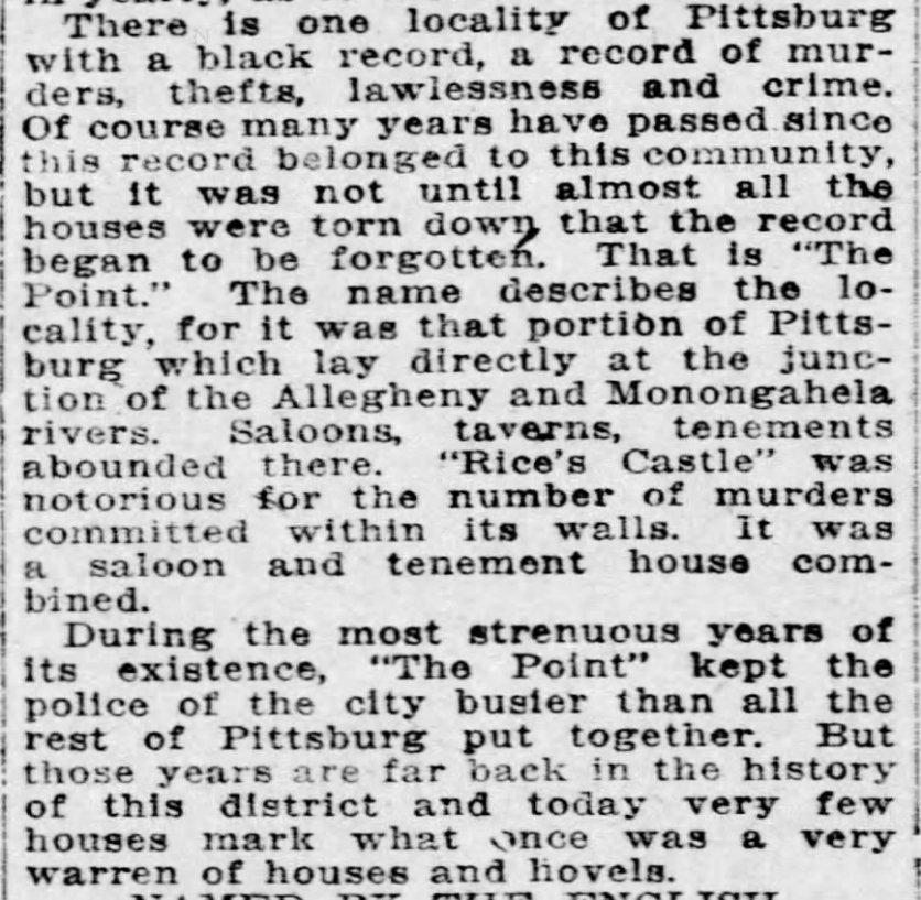 Pittsburgh Press, June 20, 1915