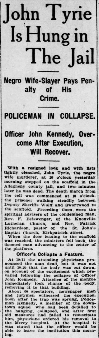 Pittsburgh Daily Post, May 23, 1911