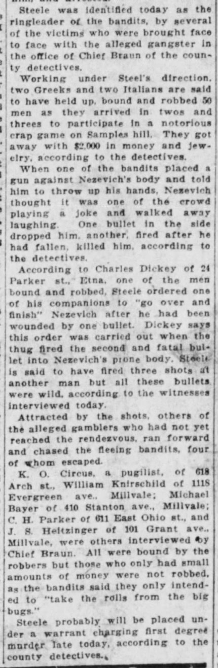 Pittsburgh Press, August 13, 1924