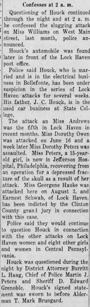 Harrisburg Evening News, September 5, 1941