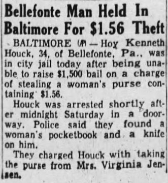 Sunbury (Pa.) Daily Item, August 23, 1954