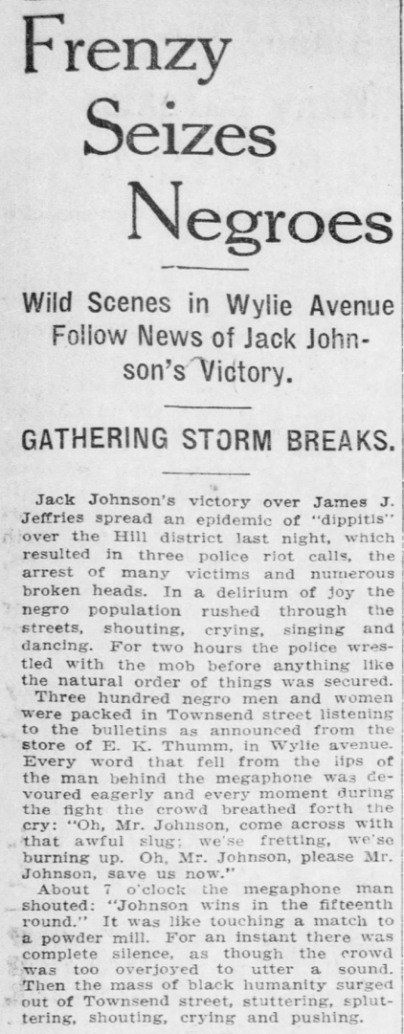 Pittsburgh Post, July 5, 1910